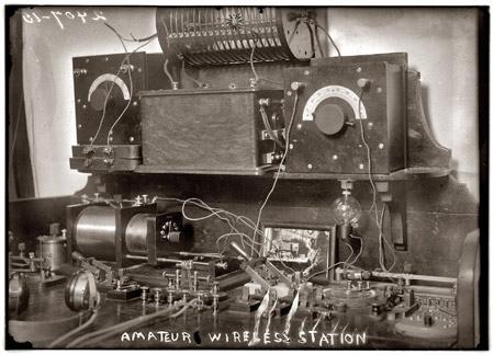 Antique Homebrew Ham Station – ca. 1920
