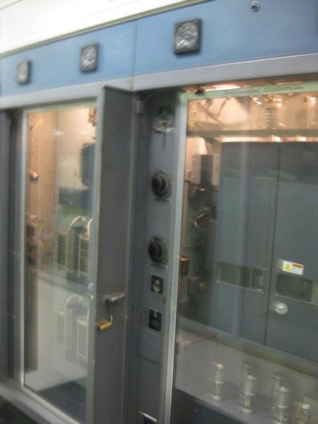 250 KW transmitter warming up