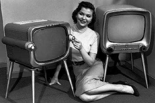 The Latest In B&W TV's!