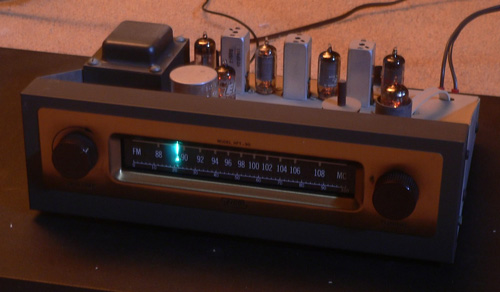 Early EICO FM Tuner, Type Built By LBA CEO Lawrence Behr In 1962.