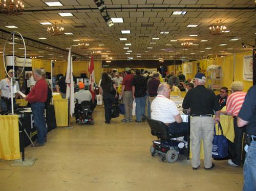 Dayton Hamfest Exhibit Halls