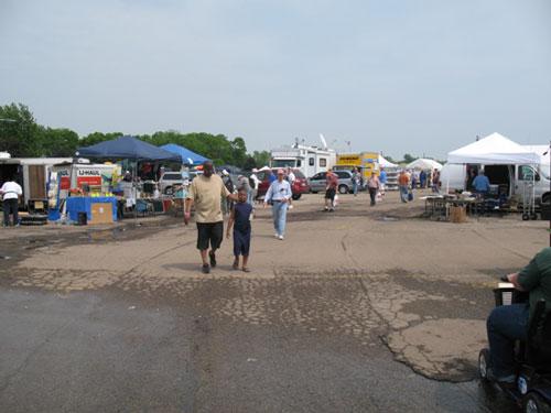 Dayton Hamvention 2011 Parking Lot Fleamarket