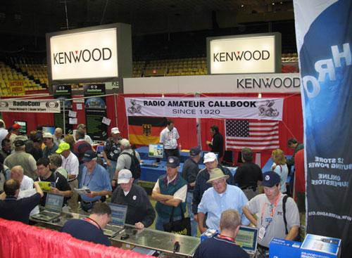 Kenwood Display in Ham Arena