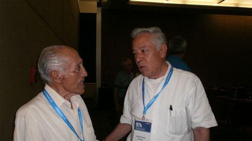 Ing. Serafin Carrasco e Ing. Ascencion Perez NRM