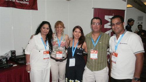 Personal de Audio y Consultoria con Josue Rodriguez de 305 Broadcast