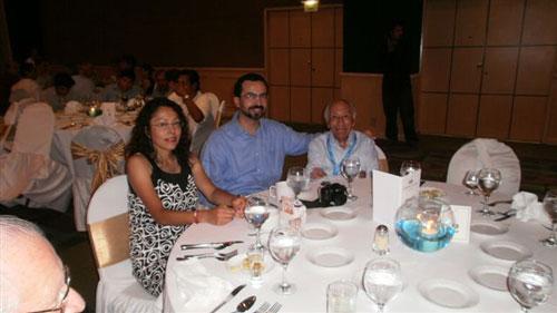 Ing. Serafin Carrasco y familia