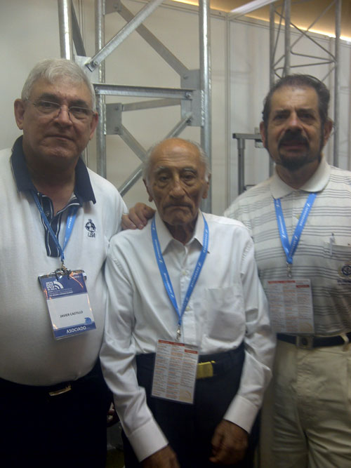 Javier Castillo, Ing. Serafin Carrasco e Ing. Sergio Rojano,  25 años después