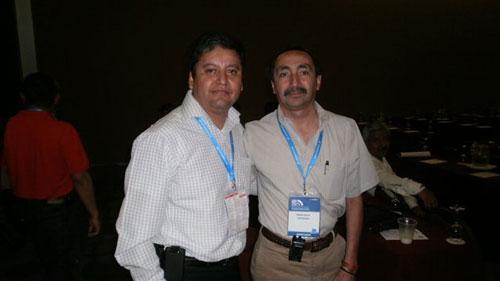 Antonio Lopez y David Salas Nuevo Presidente de Amitra 2011-2013