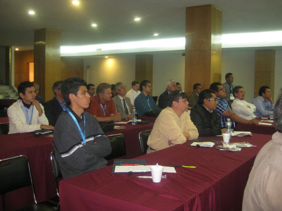 Una vista de los asistentes al seminario