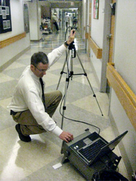 LBA's Chris Horne Assessing Hospital WMTS/WiFi Interference