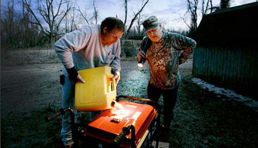 Untrained use of generators – an often unsuccessful coping approach
