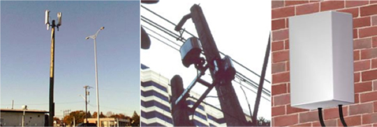 A variety of small cells now cover the urban landscape - OFCOM UK