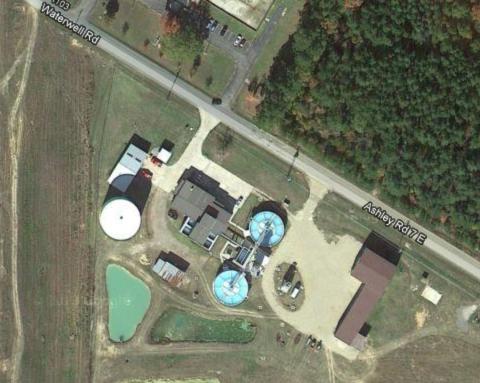 Crossett, Arkansas water system plant
