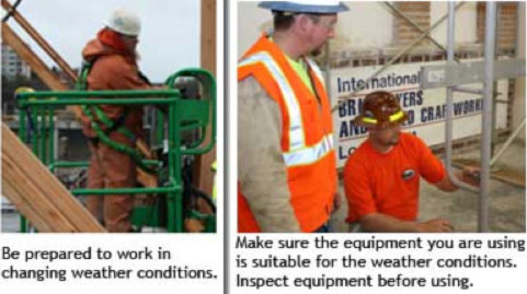 Safe cold weather work practices are essential