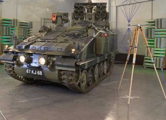 EMC testing is important for military and civilian products