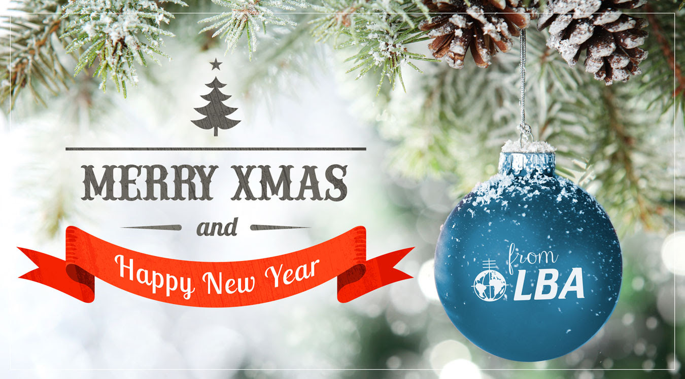 Merry Christmas & Happy New Year from LBA
