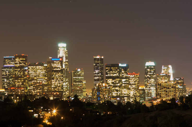 Downtown Los Angeles 4G LTE interference site