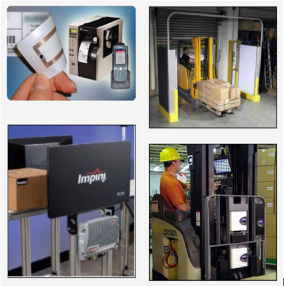 RFID readers assume a wide variety of configurations