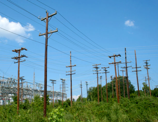 Dense utility infrastructure contributes to the AM noise problem