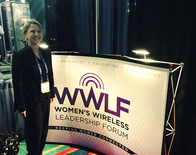 Women's Wireless Leadership Forum Booth