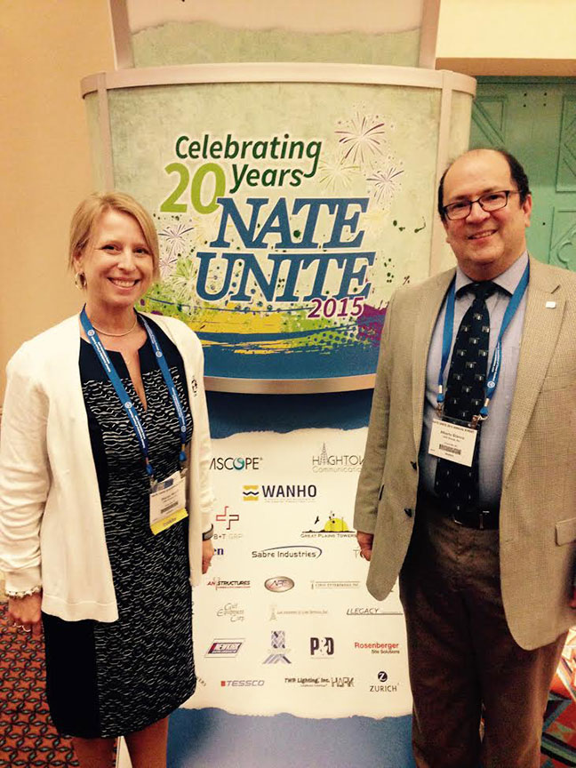 NATE Unite 2015 Welcome Sign