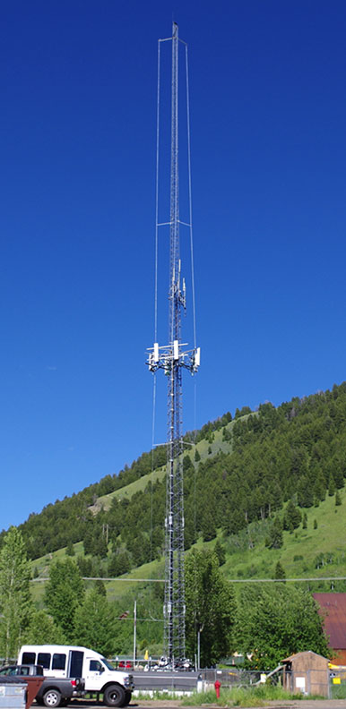 Wyoming cell tower